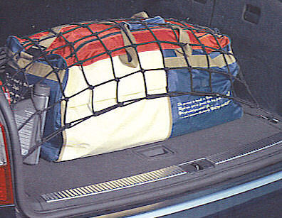 Jumbo Car Boot Cargo Luggage Trunk Net - Fits to tie down hooks - Size: 30 x 30