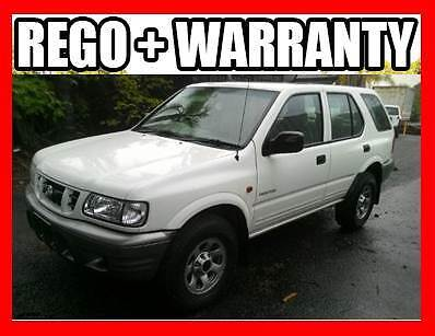 2002 Holden Frontera 4x4 Includes Warranty, Rego, Finance Nerang Gold Coast West Preview