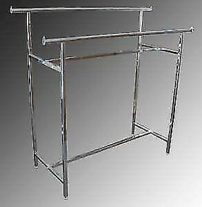 Clothing racks,hangers (new/used) large selection 416 930-4859
