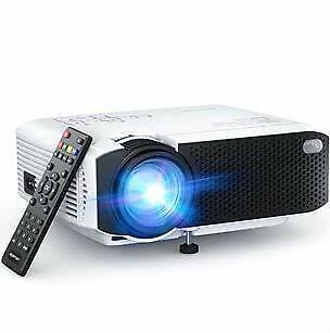 Proyector, APEMAN Mini Proyector Portátil en Casa, Soporte HD 1080P, 5000