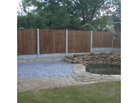 FENCING SUPPLIED & FITTED.