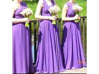 6 way convertible bridesmaid dress