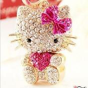 Swarovski Hello Kitty Keychain