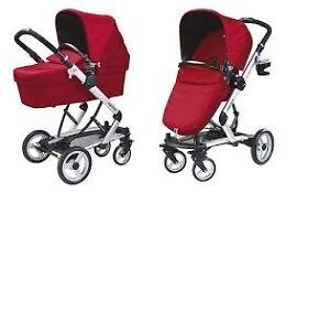 Italian Peg-Perego Skate Stroller-bassinet + Peg-Perego car seat