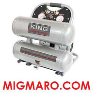 KING INDUSTRIAL KC-4620A COMPRESSEUR 2HP 4.6 GALLONS NEUF/NEW!