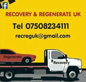 CAR & VAN Recovery and Transportation services