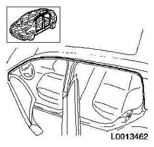 Holden Astra roof frame additional weatherstrip Mount Waverley Monash Area Preview