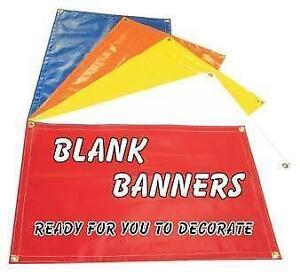 Vinyl Banner EBay - Blank vinyl banners