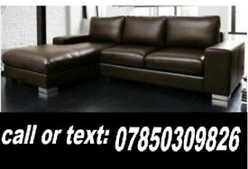 LEATHER CORNER SOFA BRAND NEW