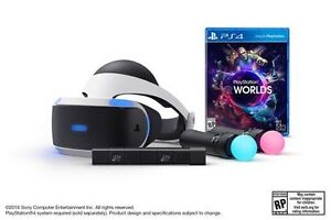 PlayStation VR Launch Bundle with Best Buy Receipt and 4 Games