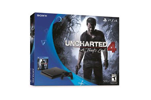 PlayStation 4 uncharted bundle with games