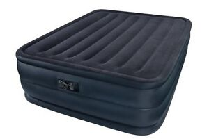 Downy queen air mattress with built in pump
