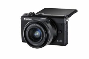 Canon EOS M100 Mirrorless Camera with 15-45mm IS STEM Lens Kit