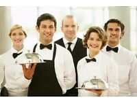 Experienced waiters/waitresses & bartenders with next week START!!