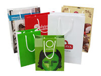 PRINTED PAPER BAGS, GIFT BOXES