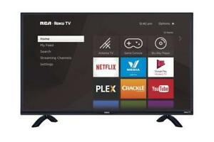RCA 32 INCH HD SMART LED  TV WITH Dual-band 802.11n WiFi BUILT IN. SUPER SALE $169.99 NO TAX