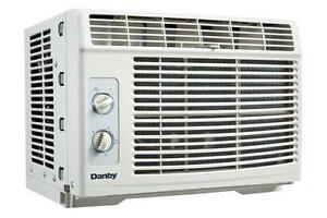 Garage Sale of as new portable and window air conditioners