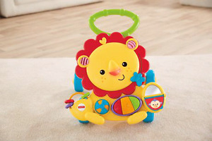 Fisher Price Baby  Musical Lion Walker toy