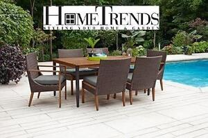 NEW* KELOWNA 7PC DINING SET - 115874347 - PATIO FURNITURE