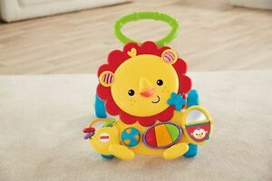Trotteur Fisher-price lion