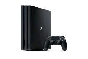 PS4 PRO 1TB gaming console PS4 Pro 1TB works perfectly like new