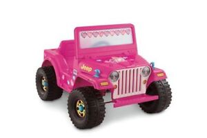 Power Wheels Barbie Jeep