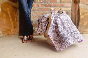 The Belle carseat canopy