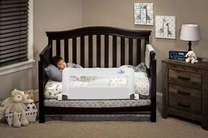 Swing down bed / crib rails (pair)