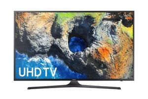 "Samsung 50"" 4K UHD HDR LED Tizen Smart TV - Dark Titan"