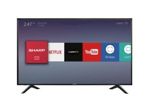 "Sharp 55"" 4K UHD Smart TV - For Repair or Parts"