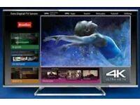 """PANASONIC 55"""" SMART 3D 4k led tv TX55AX630B"""