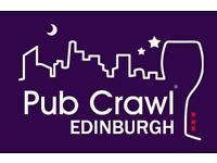 Edinburgh Santa Pub Crawl 2017