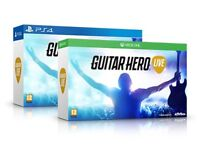Swap my PS4 for your XBox One Guitar Hero Live