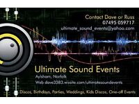 Ultimate Sound Events - mobile disco