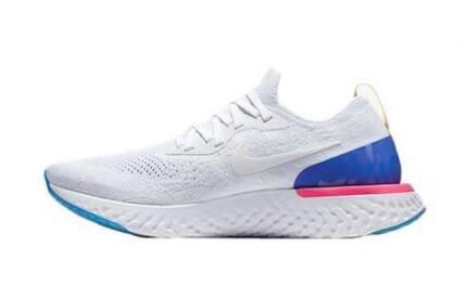 Nike epic react white 10.5