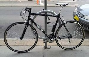 CITY BIKE FLAT BAR 21 SPEED PERFECT CONDITION  + HELMET AND U LOCK Melbourne CBD Melbourne City Preview