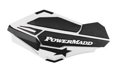 1986-2018 Honda Trx250x Sentinel Handguards, White/black Powermadd 34408