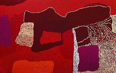 "Tommy WATSON ""Wipu"" Limited edition signed print Aboriginal Art"