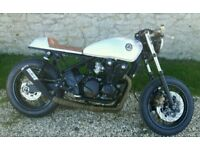 Kawasaki zr550 zephyr Cafe racer 1 off custom build brat bobber streetfigher