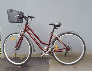 Womens' Bike - XDS CX150 burgundy North Melbourne Melbourne City Preview