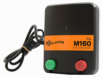 Electric Fence Charger M160 1.6 Stored Joules 110-volt