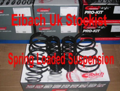Eibach Pro Kit Lowering Springs for Volvo V 50 (MW) 1.6, 1.8, 2.0, 1.6 D