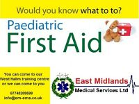 Paediatrics Emergency First Aid Course 1 day