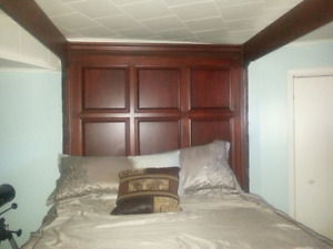 4 Poster Solid Wood Canopy Bed
