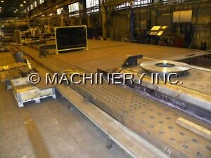 Acorn welding tables used section of 5' x 5' x 5-7 inch thick West Island Greater Montréal image 1