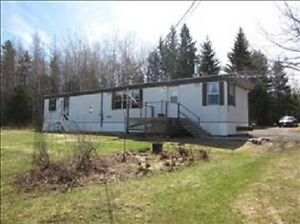 3 Bedroom Mini Home Sitting on 49 Acres***