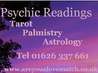 Psychic Tarot and Tea Readings