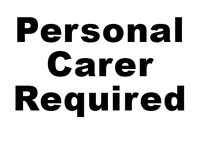 PERSONAL CARER / Assistant / Housekeeper REQUIRED