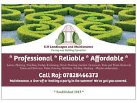 PROFESSIONAL RELIABLE TEAM FOR GARDENING, LANDSCAPING, CLEARANCES * ANY GENUINE QUOTE BEATEN!