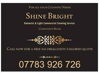 Shine Bright Domestic & Light Commercial Cleaners